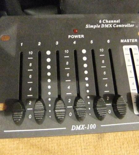 DMX Controller 6 Channel Simple DMX Controller 100