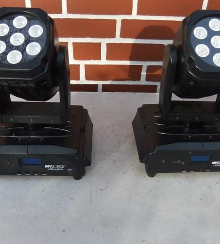 Moving Heads Involight MH 200